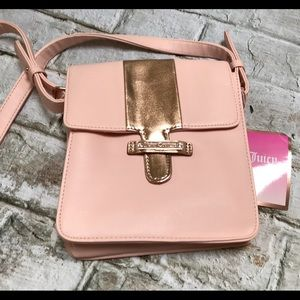 Juicy Couture pink Crossbody Bag Rose Gold 💫NEW💫